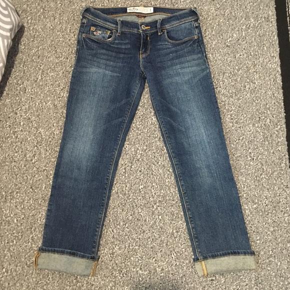 7182e7c0d4 Hollister Jeans | Cropped Denim Stretch Jr 3 | Poshmark